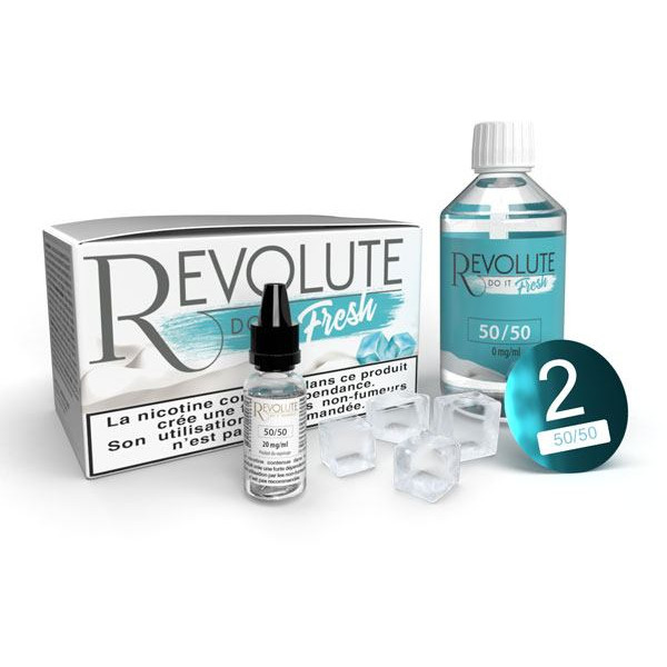 Pack Do It Fresh DIY 50/50 - Revolute - 100ml