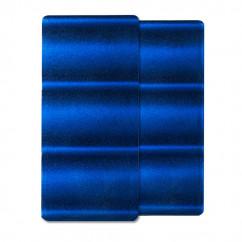 Panneaux Laqués Box Titanide Panache Vague bleue