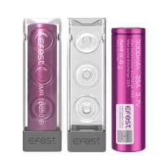Pack H2 Accus 18650 Efest Purple 3000 mAh
